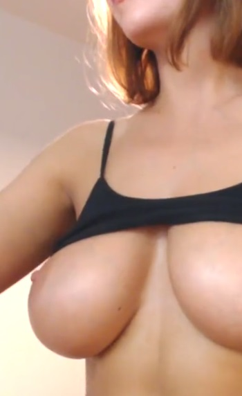 Showing Boobs On Cam