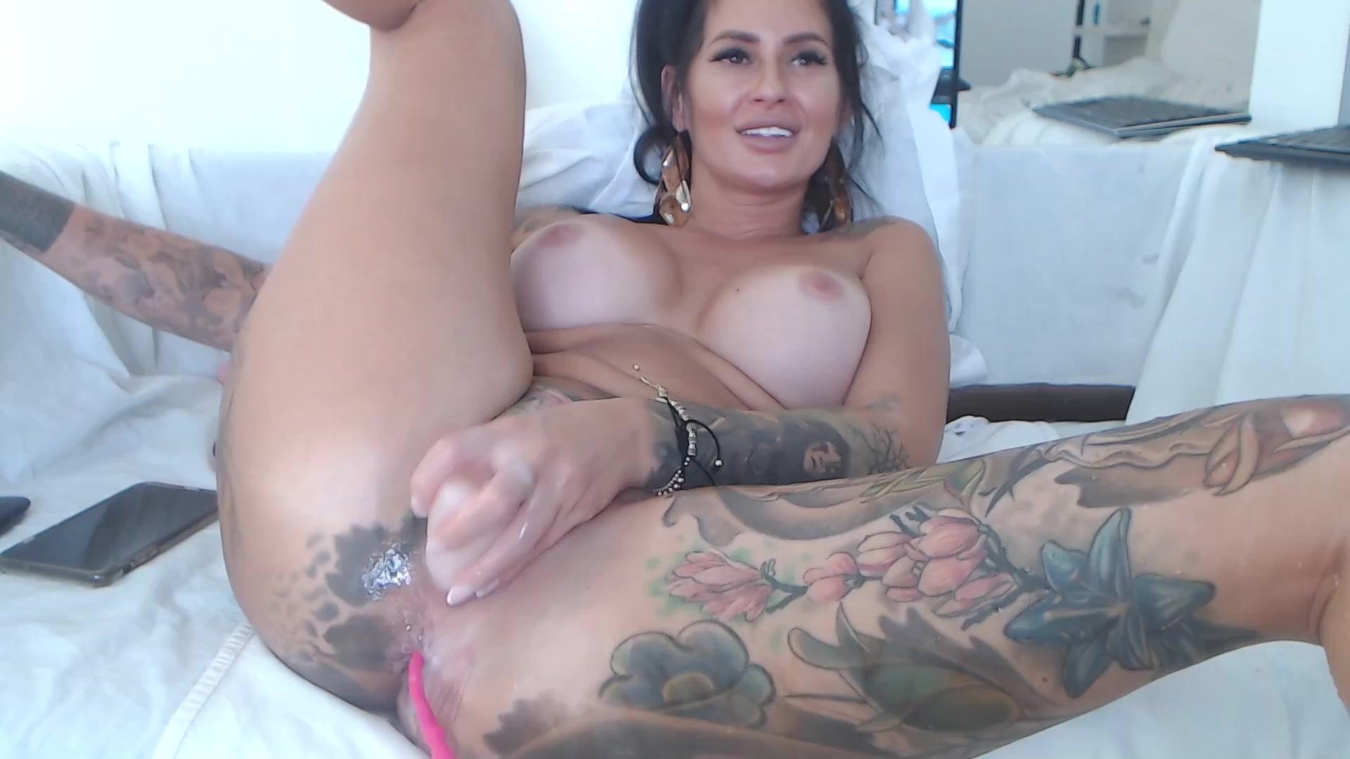 Big Tits Pornstar Dildo